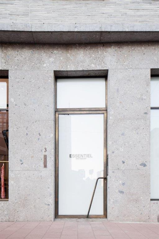 Essentiel, LOW architecten, store, Antwerpen
