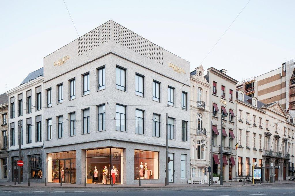 Essentiel, LOW architecten, store, Antwerpen