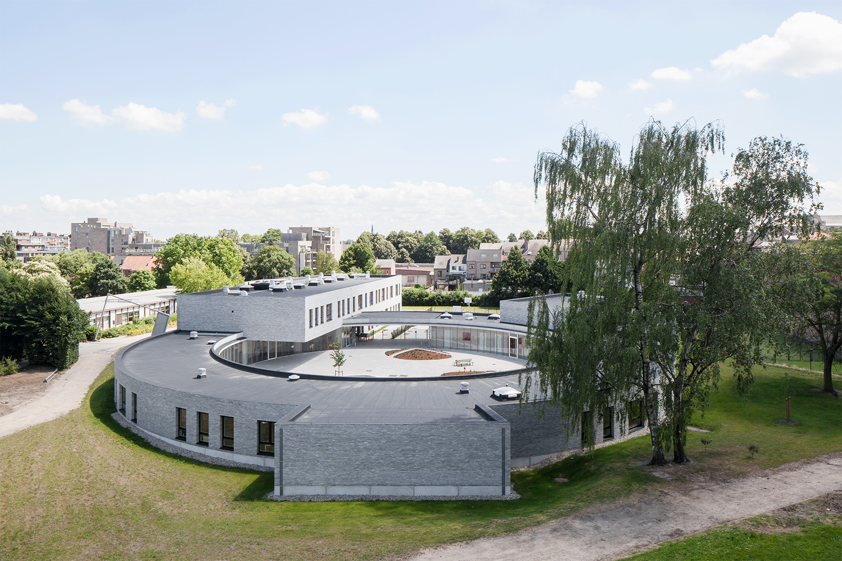 Merlijn, Primary school, Tongeren, architecture, LOW architecten