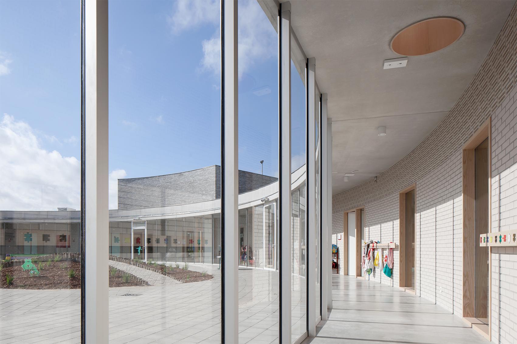 Merlijn, Primary school, Tongeren, architecture, LOW architecten