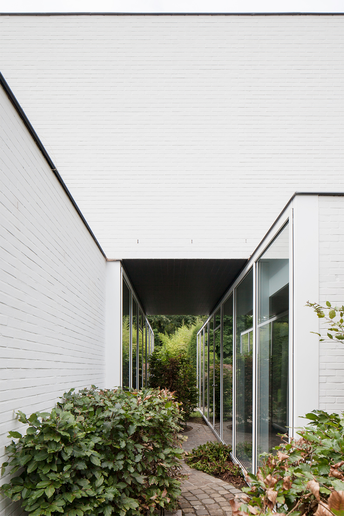 House, minimal, glas, nature, LOW architecten